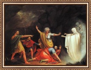 Saul Falls over as Samuel Appear!