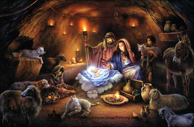 Origin of nativity scenes