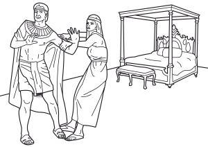 Joseph resists temptation